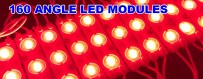 LED Modules With Lense 160 Angle