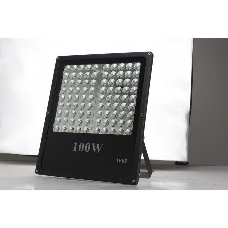 100W LED Flood Light with Lense, Die-cast Aluminum Cool white Garden/Garage