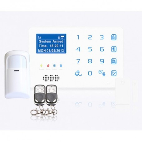GSM Home Business burglar Alarm System Phone App Control
